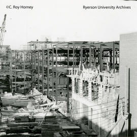 Construction of Howard Kerr Hall Unit II