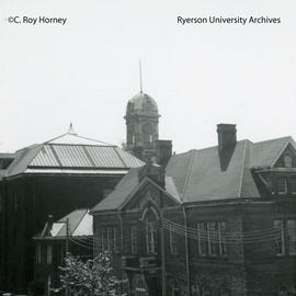 Ryerson Hall, residence, and Middle building