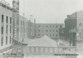 Construction of Unit II - Howard Kerr Hall