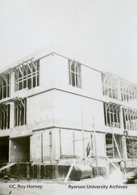 Unit II construction - Howard Kerr Hall