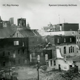 Middle building and Ryerson Hall demolition