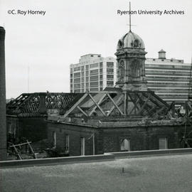 Demolition of Ryerson Hall