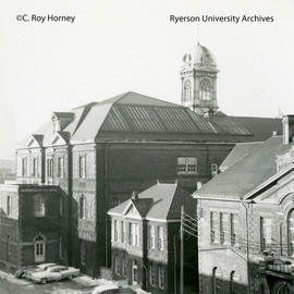 Three original campus buildings