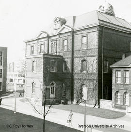 South-east side of Ryerson Hall (Normal School)