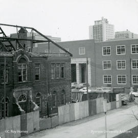 Demolition of middle building