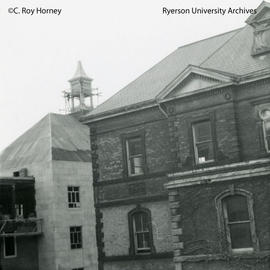 Ryerson Hall and Howard Kerr Hall south