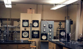 Lab room with equipment