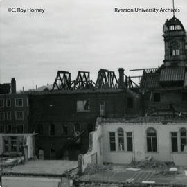 Ryerson Hall demolition