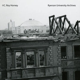 Ryerson Hall west wing demolition