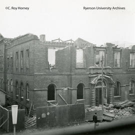 Demolition of Normal School buildings