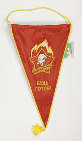 Triangular Young Pioneers' banner