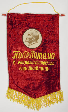 Winner in Socialist Competition banner