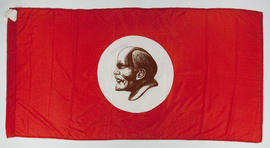 Lenin flags