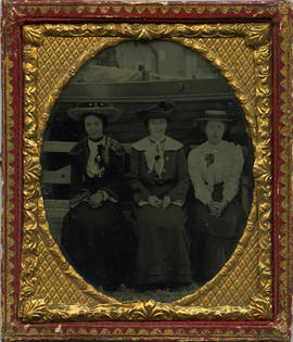 [Portrait of three women]