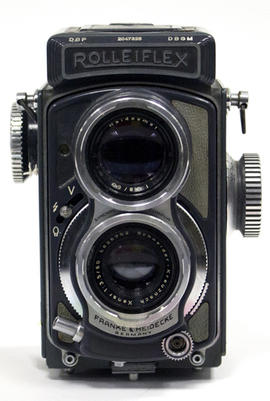 Rolleiflex Grey Baby, demonstation model