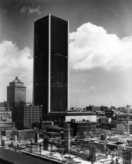 Montreal, Place Victoria, Stock exchange tower, (Tour de la Bourse)
