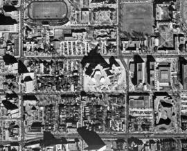 [Robarts Library: aerial views]