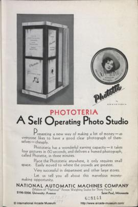 """A Self Operating Photo Studio"" 1"