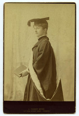 Portrait of a female graduate