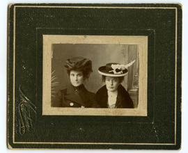 Portrait of ladies in hats