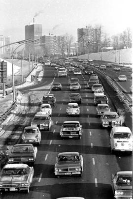 Don Valley Parkway : Traffic