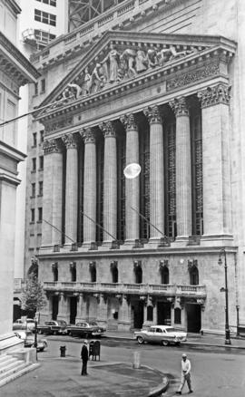 N. York Stock Exchange U.N. building