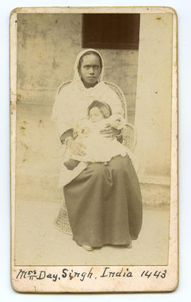 Portrait of Mrs. Day, Singh, India