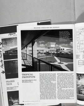 Architect's magazines : copies