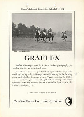 Graflex : Graflex catalog by mail or at your dealer's / Canadian Kodak Co., Limited, Toronto